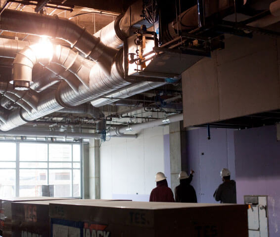 education building HVAC systems